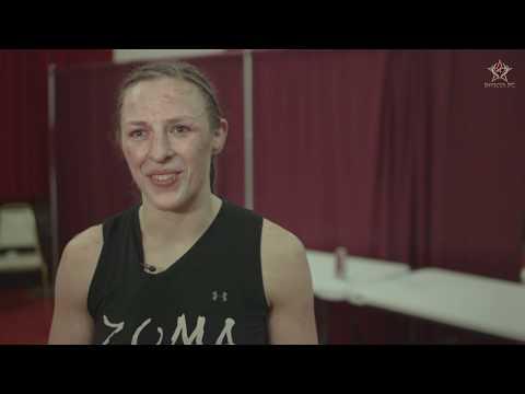 Invicta FC 27: Sarah Kaufman Post-Fight Interview