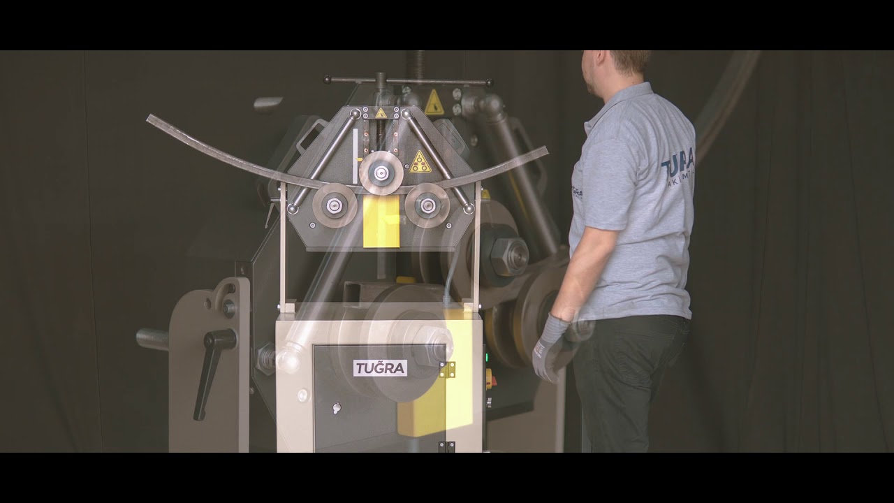 Download PK 40 / 3 Toplu Mekanik Profil & Boru Kıvırma Makinası
