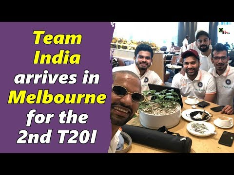 Watch: Indian cricket team arrives in Melbourne for the 2nd T20I | Australia vs India