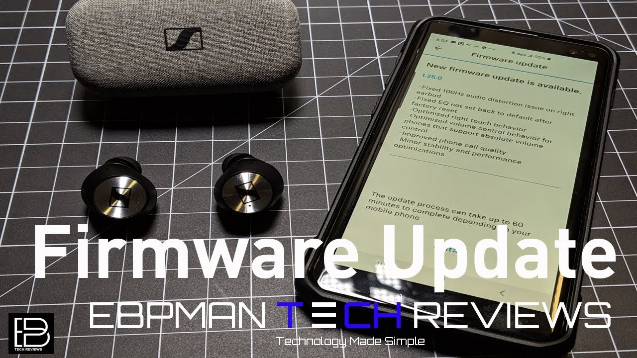 Sennheiser Momentum True Wireless Firmware Update 1 25 0 | What's improved