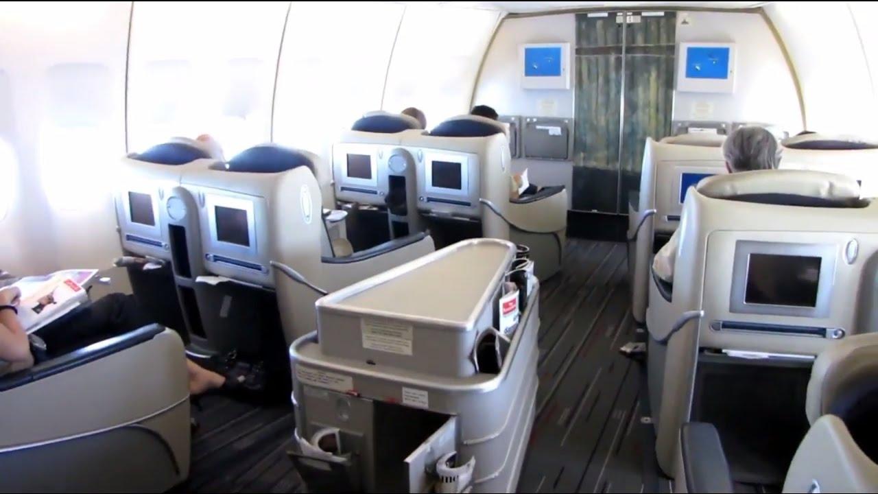 Flight report air france mauritius paris boeing 747 for Interieur 747 air france
