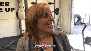 """KATHY DUVA ON DANA WHITE IN BOXING """"EVEN THE BIGGEST FIGHTERS IN MMA HAVE TO BOX TO MAKE IT BIG!"""""""