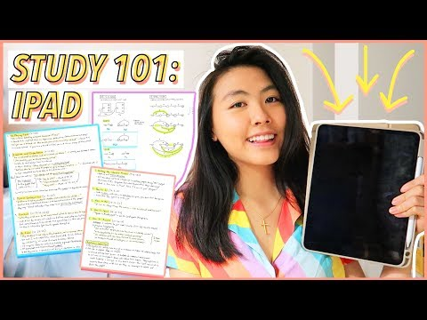 ✨How I Take Notes on my iPad Pro | Study Tips & Tricks for Organization (One Note) | Katie Tracy
