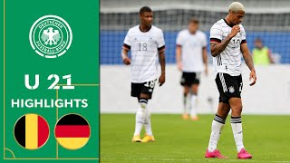 1:4! U 21 bangt um Gruppensieg | Belgien - Deutschland 4:1 | Highlights | U 21 EM-Qualifikation