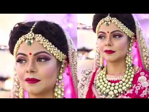 video:Anurag makeup mantra presents.......🎁 International technics and Indian makeup with so beaut