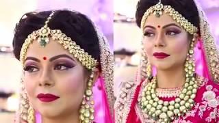video:Anurag makeup mantra presents.......🎁 International technics and Indian makeup with so beaut