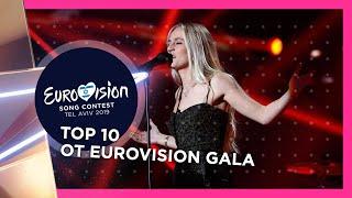 OT Eurovision Gala | MY TOP 10 | Spain 🇪🇸 @ Eurovision 2019