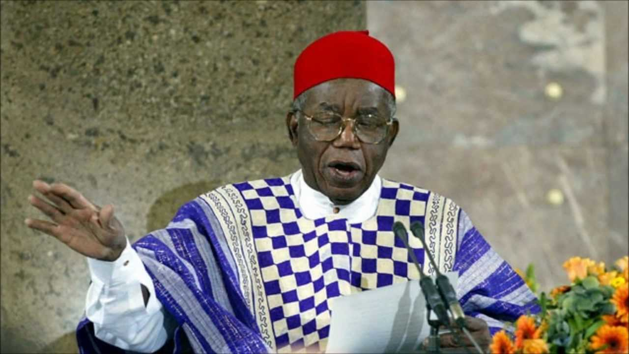 chinua achebe reads from things fall apart pen america