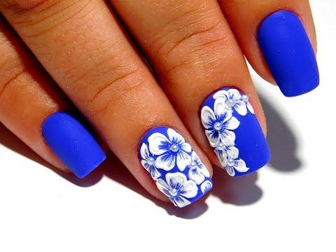 Дизайн ногтей ГЕЛЬ ЛАКОМ. Это очень легко и просто!