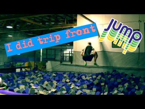 JUMP session (I DID TRIPLE FRONT FLIP)