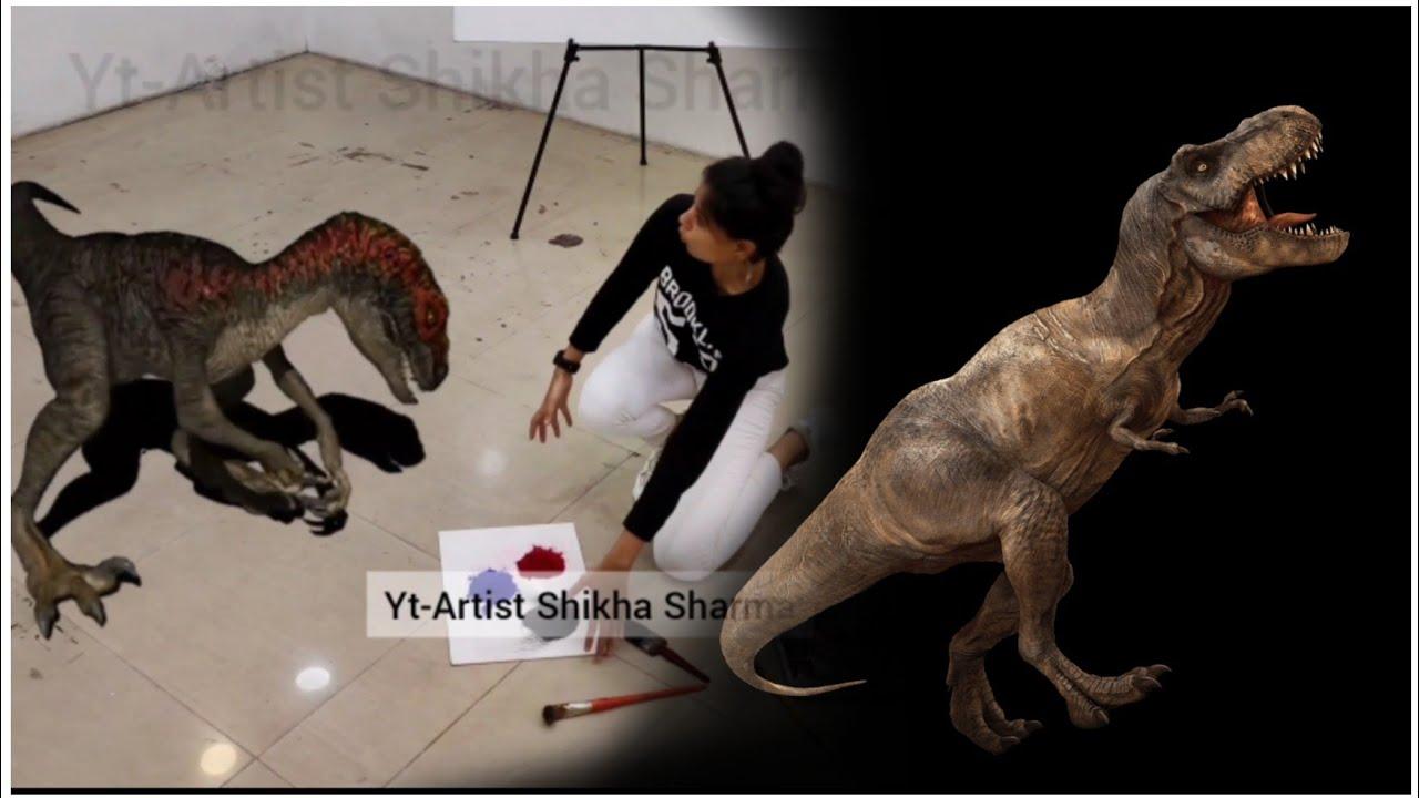 3d tricky Rangoli full video   🤯 behind the scenes   shikha Sharma