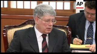 Russian nuclear envoy meets South Korean FM