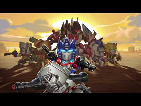 Transformers: Battle Tactics Mobile Game From DeNA
