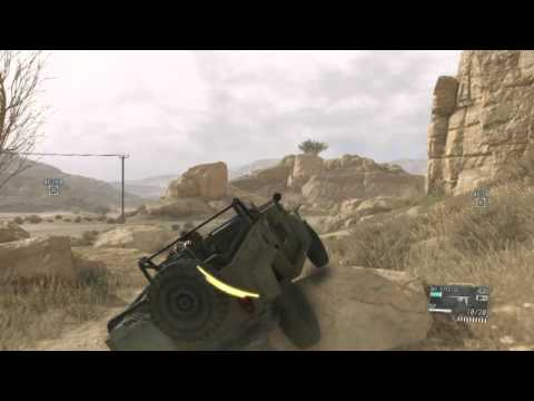 Metal Gear Solid V: The Phantom Pain - Escape From Afghanistan