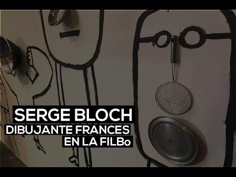 Feria del Libro Bogotá: Serge Bloch, dibujante francés | El Espectador