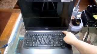 видео Ремонт ноутбука ACER Extensa 7230