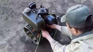 Запуск двигуна СН-6-Д-11 ( Запуск двигателя СН-6-Д-11 )