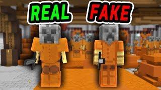 Фото FAKE Statue TROLL Minecraft Murder Mystery Trolling