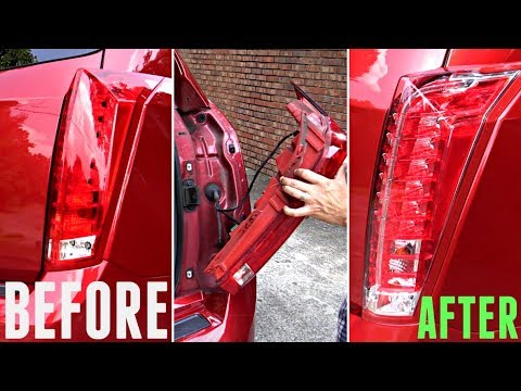 2010-2016 Cadillac SRX Tail Light Removal Guide (UPGRADE to CLEAR 22773651)