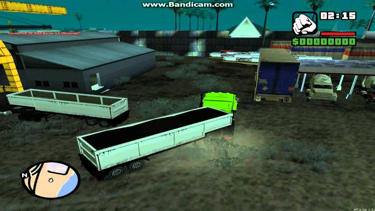 Скачать truck сервер samp