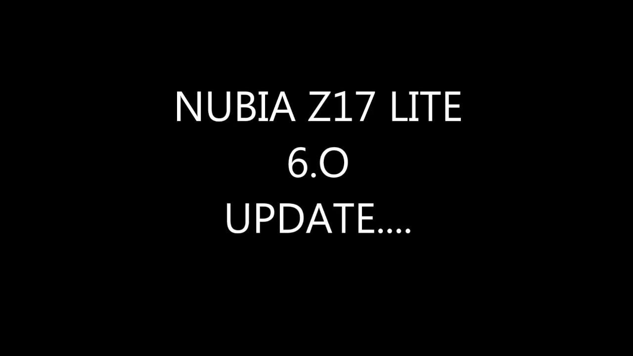 How to install nubia ui 6 0 on z17 lite