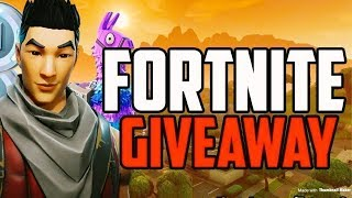 *BIG* FORTNITE GIVEAWAY (FREE!)