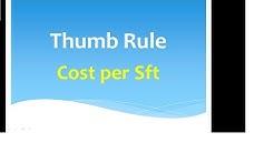 Estimation (Cost per sqft.) QSC