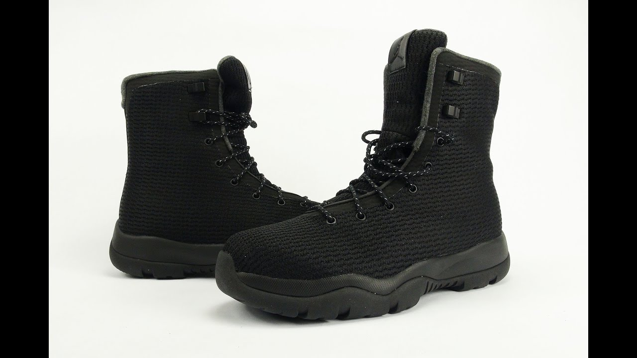 new product ddf1c 8d364 Jordan Future Boot Black Review + On Feet