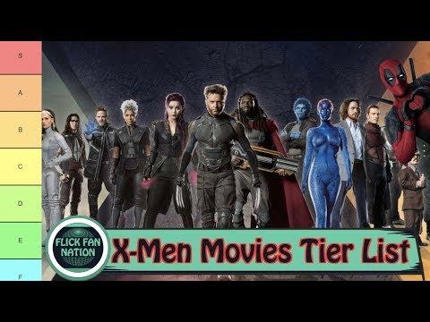 X-Men Movies Tier List (Worst to Best)