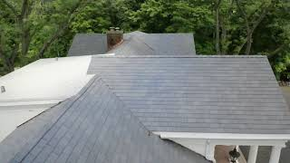 DaVinci Single Width Slate - Lake Geneva, installed by CRC Cedar Roofing Company