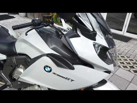 2012 BMW K 1600 GT In Light Grey Metallic At Euro Cycles Of Tampa Bay