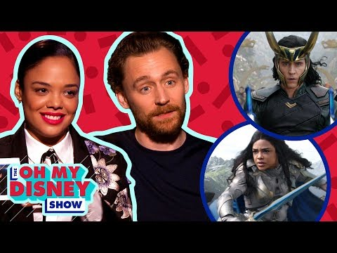 Tom Hiddleston and Tessa Thompson Play Loki or Lowkey  Oh My Disney