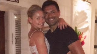 Kelly Ripa Re-Wears Wedding Dress for 20th Anniversary Trip With Mark Consuelos