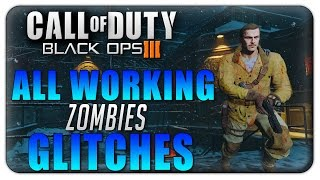 """Black Ops 3 Zombies Glitches: ALL Working Glitches on """"The Giant"""" & """"Shadows of Evil"""" (BO3 Glitches)"""