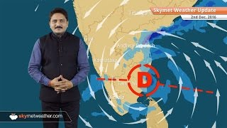 Weather Forecast for Dec 2: Cyclone Nada continues giving rain to Chennai, Bangalore, Fog in Delhi