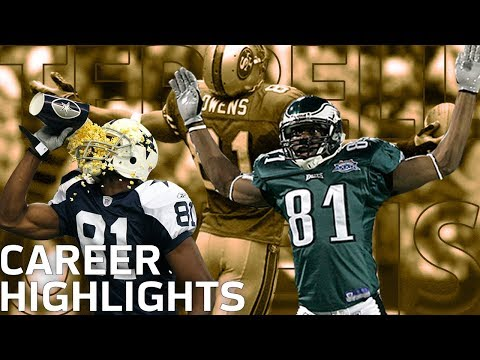 Terrell Owens 'T.O.'  FULL Career Highlights | NFL Legends Highlights