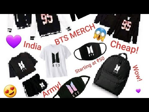 Cheap Bts Merch Under 500 In India Youtube