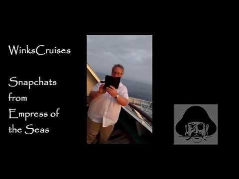Empress of the Seas - White Party Snapchat