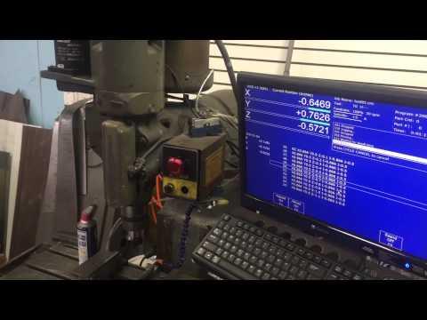 Bridgeport Boss CNC mill with Ajax retrofit kit