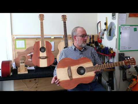 Cole Clark introduce the Little Lady guitar