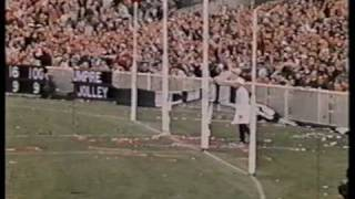 1970 V.F.L Grand Final In Colour Collingwood Vs Carlton Last Qtr