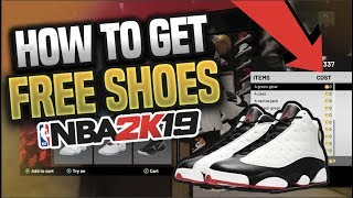 *NEW* UNLIMITED FREE SHOES GLITCH IN NBA 2K19 🔥AFTER PATCH 😱JORDANS, ADIDAS, NIKES 2k19 GLITCHES