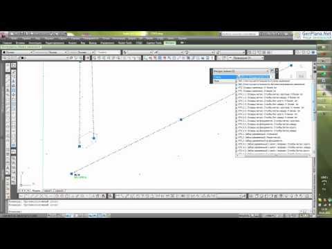 Отрисовка условных знаков ЛЭП инструментами CIVIL 3D