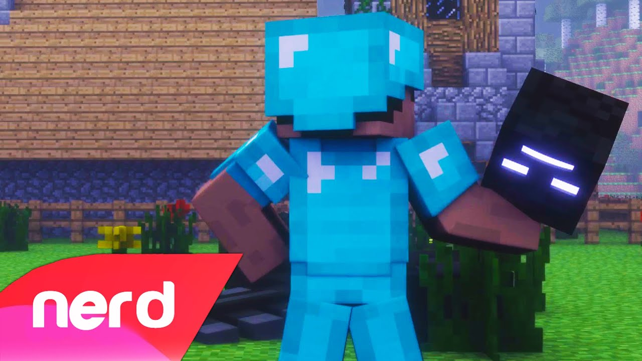 Minecraft Song My House NerdOut Minecraft Animation YouTube - Minecraft top hauser