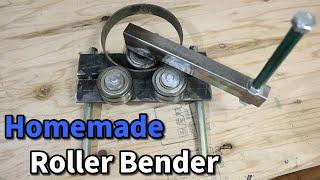 【溶接 DIY】ローラーベンダー作ってみた(自作) Homemade Metal bender