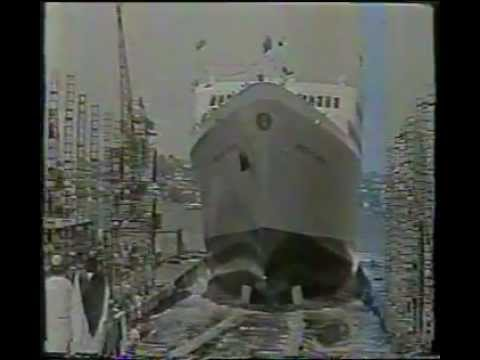 Empress of Australia launched, 1964