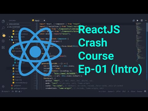 Create WebApp in ReactJS | Crash Course React | ReactJS Tutorial EP-01 thumbnail