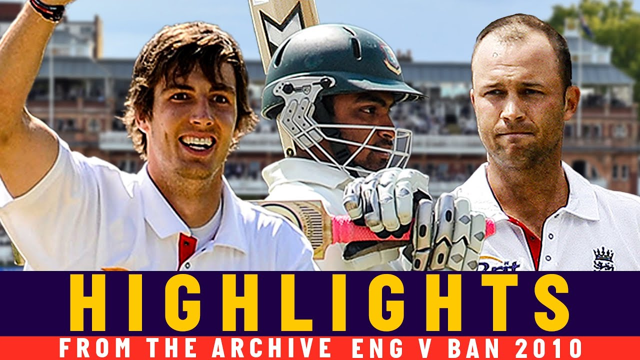A Trott Double 100 & Tamim Smashes Fastest Bangladesh Ton! | Classic Match | Eng v Ban 2010 | Lord's