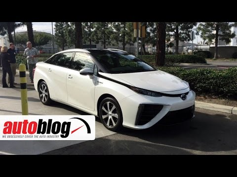 Toyota Mirai Press Trip | On Location | Autoblog