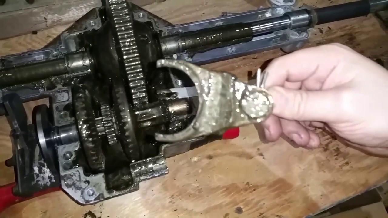 small resolution of cub cadet ltx1040 stuck gear fix